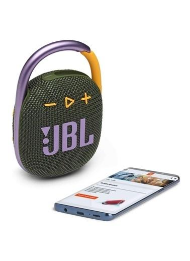 JBL JBL Clip 4 Yeşil Taşınabilir Bluetooth Hoparlör Renkli